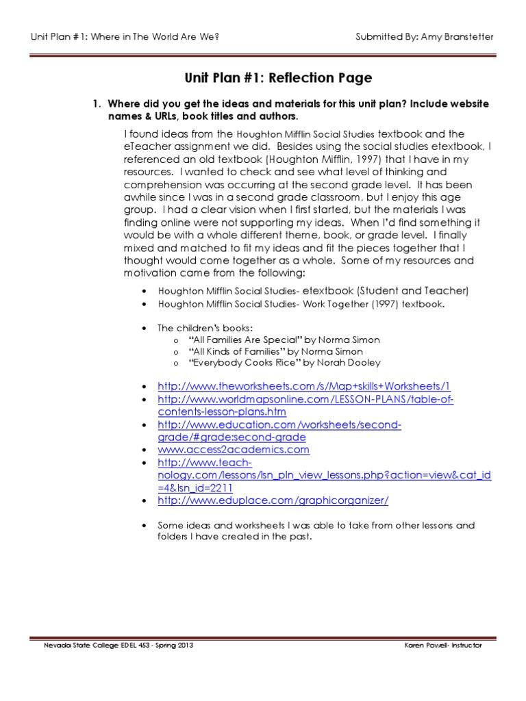 Workbooks teach-nology.com worksheets : Edel453 Spring2013 Amybranstetter Unit 1 Reflection | Textbook ...