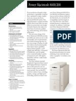 Power Macintosh 8600/200