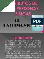 PATRIMONIO (EXPOSICIÓN DE DERECHO)