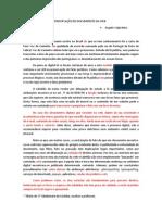 A PRESERVAÇÃO DOS DOCUMENTOS NA WEB.