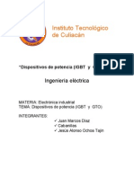 Dispositivos Igbt y Gto