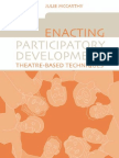 Julie McCarthy, Karla Galvão-Enacting Participatory Development_ Theatre-based Techniques-Earthscan Publications Ltd. (2005)