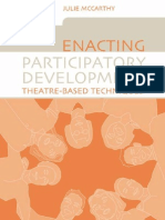 Julie McCarthy, Karla Galvão-Enacting Participatory Development_ Theatre-based Techniques-Earthscan Publications Ltd. (2005)