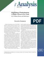 Regulatory Protectionism