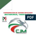 Confederacion de Jovenes Mexicanos Logo