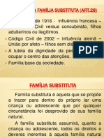 7. Colocação Família Substituta Art. 28
