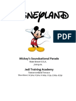 Disneyland and CA Adventure Attractions Guide