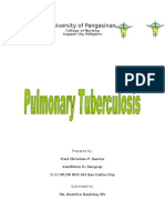 Project Communicable Disease Nursing Pulmonary Tuberculosis