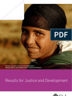 Report on Sida's Results on Democracy