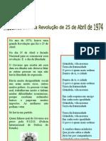 25 de Abril - Jornal