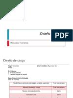 Diseño de cargo