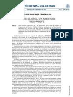RD 1290_2012 Rglto del domiunio público hidráulico PRESAS