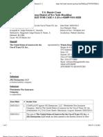 THE UNITED STATES OF AMERICA FOR THE USE OF TRANE US, INC., v. JHJ ENTERPRISES, LLC et al Docket