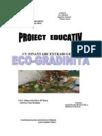 Proiect Ed. Eco-grad