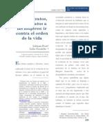 UAM. Liliana Fort y Lilia Granillo. Buenos Tratos, Malos Tratos a Las Mujeres