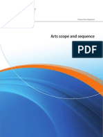 the arts scope and sequence