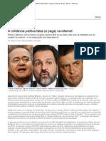 Entrevista com Atheniense - A militância política falsa (e paga) na internet - Brasil - Notícia - VEJA