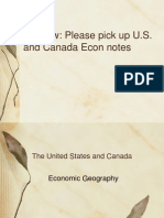 u s  and canada econ