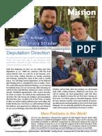 john strader may 2013 mission report
