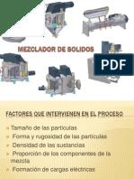 Mezclador de Solidos
