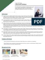 Cómo crear un volante en Microsoft Publisher _ eHow en Español