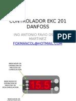 CONTROLADOR EKC 201 DANFOSS.ppsx