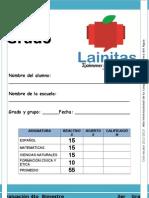 3er Grado - Bimestre 4 (2012-2013)