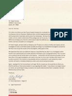 Ralph Polnicky Response