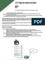 CAPITULO 7 Capa de Enlace de Datos