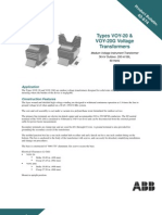 ABB 34.5kV CT Brochure