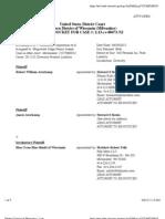 AVERKAMP et al v. SWIMWAYS CORPORATION et al Docket