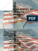 Powerpoint presentation on Usa Economy