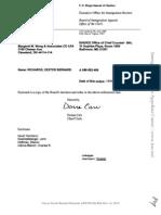 Dexter Bernard Richards, A098 582 406 (BIA Nov. 16, 2012)