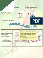 Afiche Malaria