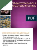 Farmacoterapia de La Parasitosis Intestinal