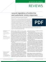 Regulación neural de las respuestas endocrinas y autonómicas al estrés - Nature Neurosc 2009