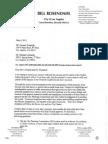 Rosendahl Letter on Casden Sepulveda Project May 2013