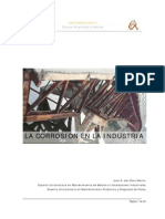 La Corrosion en La Industria
