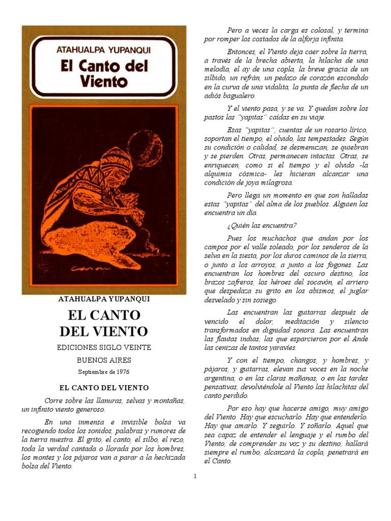 atahualpa yupanqui - el canto del viento- versión corregida por ...