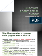 Un Power Point Per Il cMooc3