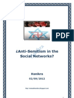 Anti-Semitism in the Social Networks