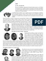 Presidentes de Guatemala Desde 1954