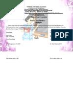 Duplikat Piagam Universitas Pendidikan Ganesha