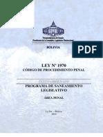 Cod. Proc. Penal