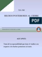 Presentacion Nia 560