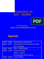 Intro to Six Sigma