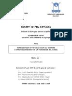 Optimisation Du Systeme Dapprovisionnement de La Fromagerie Bel Maroc