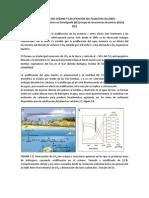 ACIDIFICACIÓN DEL OCÉANO Y CALCIFICACIÓN DEL PLANCTON CALCÁREO