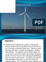 03 Wind Energy System Design