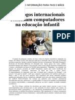 Magalhães - Pedagogos condenam computadores na educação infantil